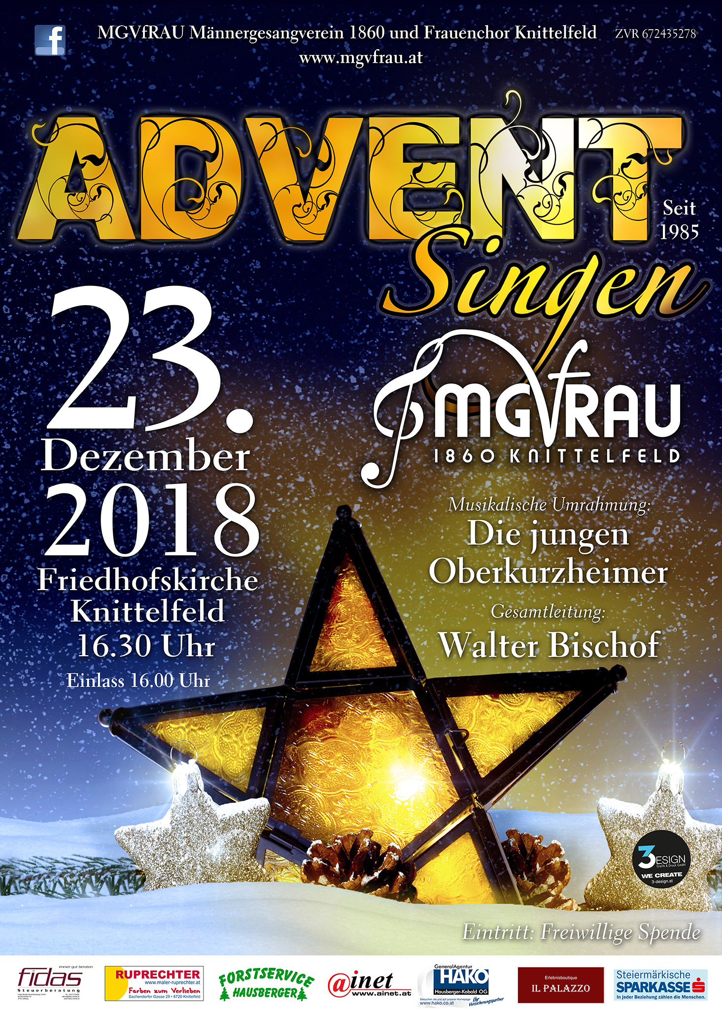 MGVfRAU Advent Singen